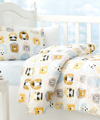 Набор постельного белья Sleepy Friends 100x150 см